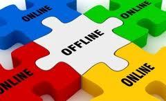 online y offline